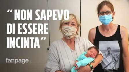 """La donna che ha partorito in spiaggia il suo settimo figlio: """"Non sapevo di essere incinta"""""""