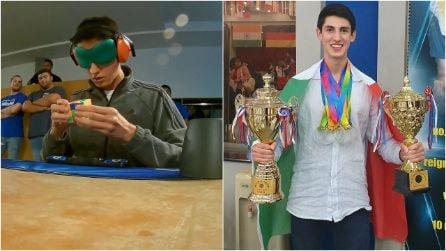 Andrea Muzii, il campione mondiale di memoria in grado di memorizzare 572 cifre in soli 5 minuti