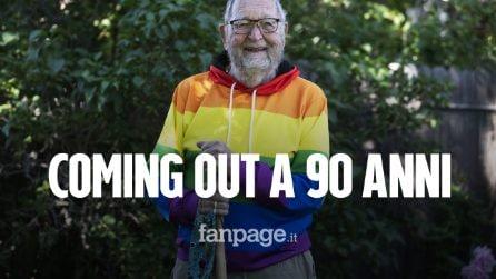 """Kenneth rivela di essere gay alla famiglia a 90 anni: """"L'unico rimpianto? Aver lasciato Philip"""""""