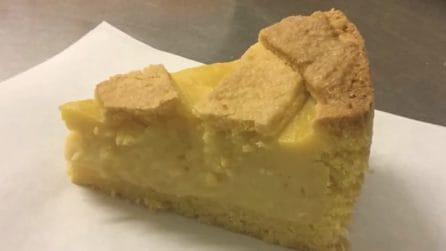 Torta pasticciotto al limone: la ricetta del dessert fragrante e cremoso