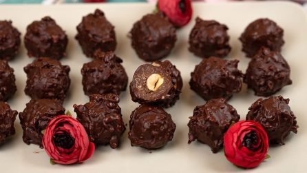No-bake chocolate bites: they are simply irresistible!