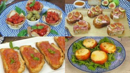 4 Ricette estive perfette per i tuoi aperitivi!
