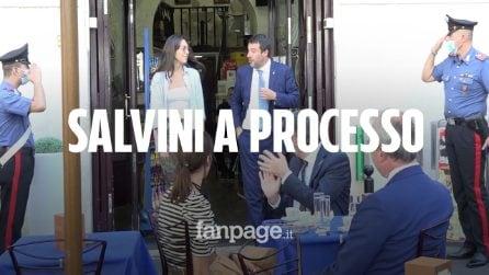 """Open Arms, Salvini: """"Processo politico. Renzi vota a favore? Non mi aspettavo niente di diverso"""""""