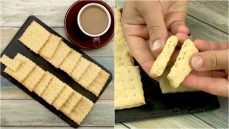 Homemade crackers: an easy recipe to try!