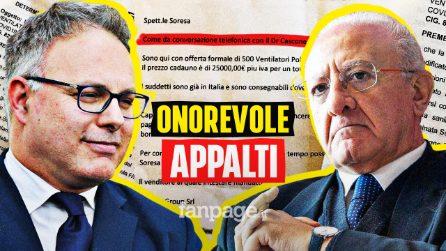 """""""Per gli appalti dovete parlare con Cascone"""". La verità dietro le forniture Covid della Campania"""