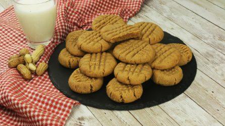 Biscotti al burro d'arachidi: vi conquisteranno al primo assaggio!
