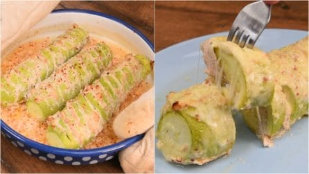 Stuffed zucchini: a delicious dish for a easy and quick dinner!