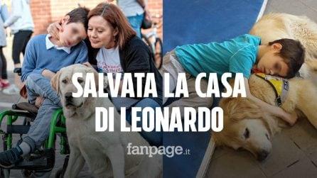 La casa di Leo pignorata dalla banca salvata da un angelo che ha pagato un debito da 150mila euro