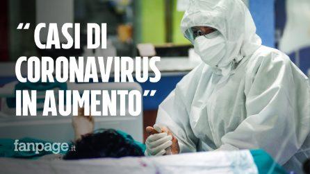 """Iss: """"In Italia casi di Coronavirus in aumento, in 8 regioni indice Rt sopra la soglia di guardia"""""""