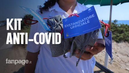 A Sabaudia arriva il kit anti-Covid per il distanziamento nelle spiagge libere