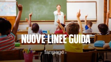 Scuola, le nuove linee guida per i bambini da 0 a 6 anni: tutti i dettagli sul ritorno in classe