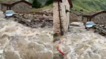 Maltempo nel bresciano: un temporale colpisce Valle di Viso