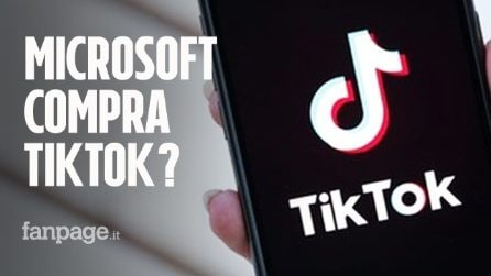 Microsoft vuole comprare TikTok: ma Trump non è d'accordo e minaccia il ban della piattaforma