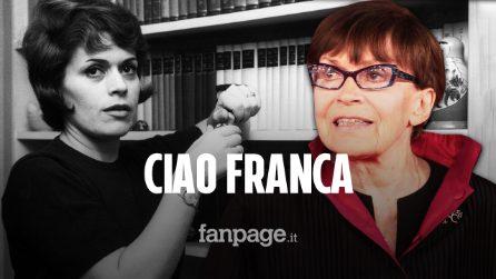 È morta Franca Valeri: addio alla signora dello spettacolo