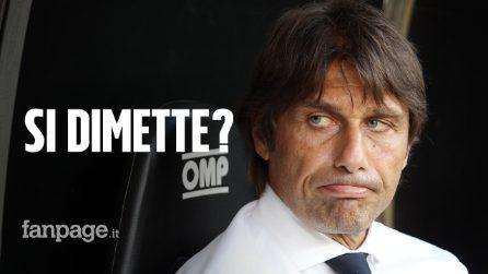 Conte, bordate all'Inter: clamorosa rottura. Il tecnico potrebbe dimettersi?