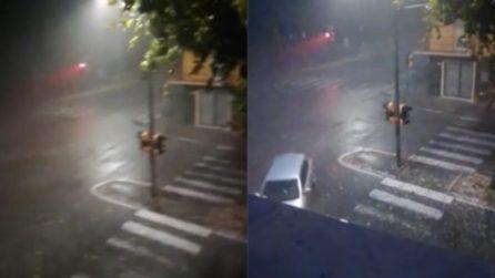 Modena, vento, pioggia e grandine: danni ingenti