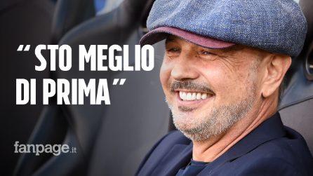 """Sinisa Mihajlovic: """"Dopo nove mesi dal trapianto sto meglio di prima, gli esami sono ok"""""""