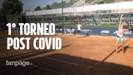 """Tennis, a Palermo il primo torneo al mondo post coronavirus: """"Ripartiamo, stando attenti"""""""