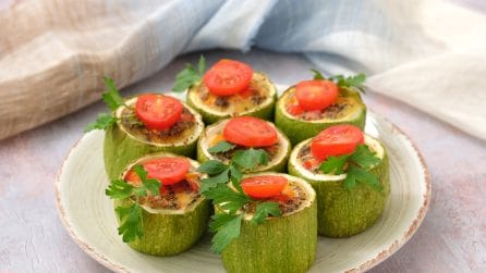 Stuffed zucchini: the side dish full of flavor perfect for all occasions!