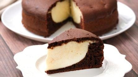 Torta cioccolato e ricotta: il dolce bigusto che farà impazzire tutti i golosi!