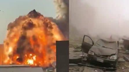 La devastazione di Beirut: mezza città distrutta dopo l'esplosione