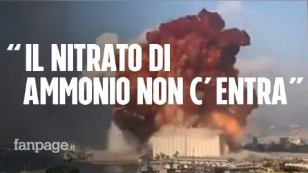 """Esplosione Beirut, l'esperto Danilo Coppe: """"Non é nitrato di ammonio, era un deposito di armi"""""""