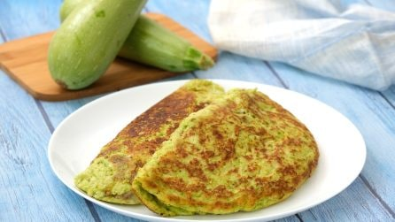 Zucchini crepes: the perfect savory dish for your dinner!