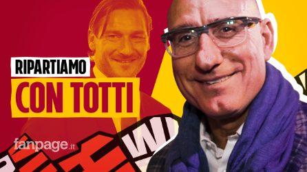 """Ciccio Graziani: """"Il mio sogno è rivedere Totti nella Roma di Friedkin"""""""