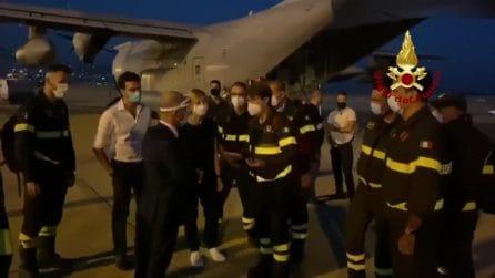 Giunti a Beirut team di esperti dei Vigili del fuoco partiti da Pisa
