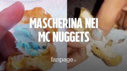 Bimba di 6 anni trova una mascherina nella crocchetta di pollo di McDonald's e rischia di soffocare