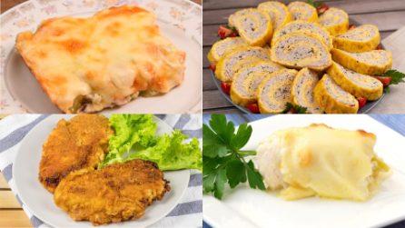 Dai libero sfogo alla tua creatività in cucina con queste 4 ricette a base di pollo!