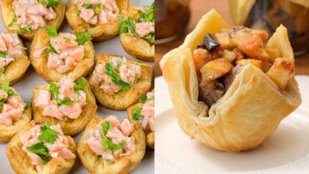 3 ricette sfiziose per preparare dei deliziosi stuzzichini con la pasta sfoglia!