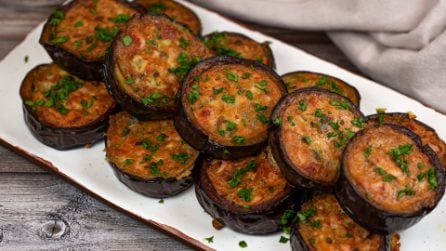 Eggplant medallions: a tasty side dish to try!