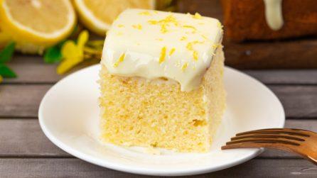 Quadrotti al limone: l'inebriante aroma dell'agrume in un soffice pan di spagna!