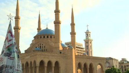 Libano, minuto di silenzio a Beirut a una settimana da tragedia