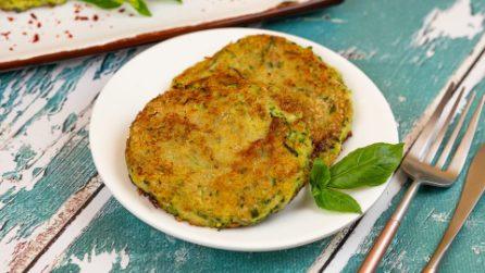 Hamburger di zucchine: il piatto facile e veloce ma pieno di gusto!