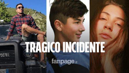 Castelmagno: Marco, Nicolò, Elia, Camilla e Samuele sono morti dopo la notte a guardar le stelle