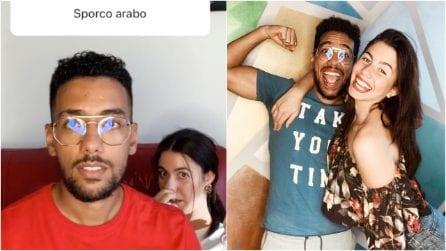 Rispondono ai messaggi d'odio sui social con ironia: Momo e Raissa, due fidanzati contro il razzismo