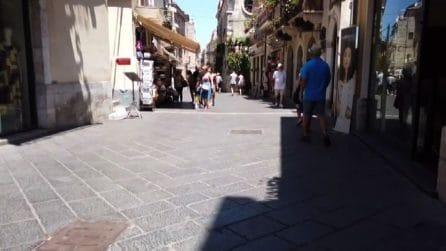 Il coronavirus mette in crisi il turismo a Taormina