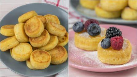 Focaccine dolci in padella: ideali per una colazione speciale in compagnia!