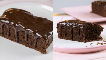 Torta al cioccolato fondente: come farla cremosa e soffice come non mai!