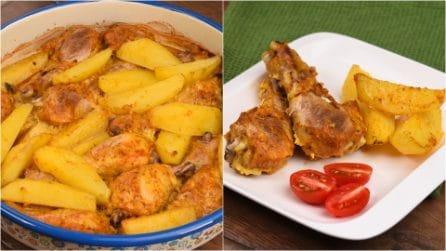 Cosce di pollo al forno: il segreto per farle croccanti fuori e tenere dentro!