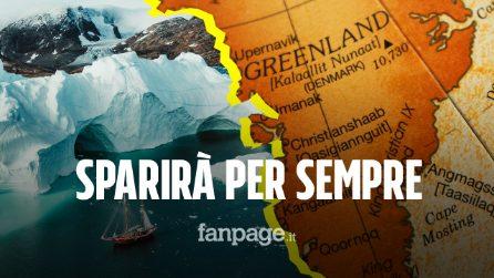 Groenlandia destinata a sparire: superato il punto di non ritorno per lo scioglimento della calotta