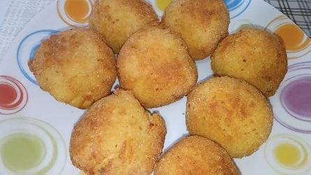 Polpette di patate filanti: la ricetta del contorno pieno di gusto