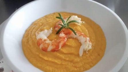 Zuppa fredda con gamberi: la ricetta alternativa e deliziosa