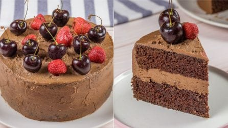 Chocolate creamy cake: the perfect dessert for any occasion!