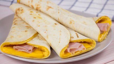 Tortillas wraps: i fagottini pieni di sapore perfetti per una cena veloce e saporita!