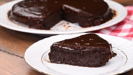 Flourless cake: an easy recipe for the most amazing chocolate cake!