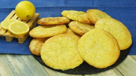 Biscotti morbidi al limone: si sciolgono in bocca!