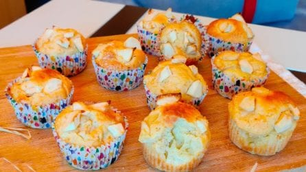 Muffin morbidi alle mele: la ricetta semplice per averli perfetti